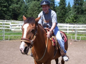 Giddyup!  My First Time on a Horse!